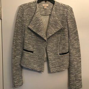 NWOT Ann Taylor LOFT tweed blazer S